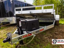 <span class='hidden'></span> K-Trail Hydraulic Deck Series Equipment Trailer