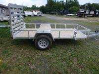 <span class='hidden'></span> Quality Steel and Aluminium Products 6010AN (Silver) Utility Trailer