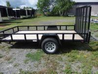 <span class='hidden'></span> Quality Steel and Aluminium Products 6010HS (Black) Utility Trailer