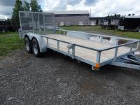 <span class='hidden'></span> Quality Steel and Aluminium Products 8214ANTA Utility Trailer
